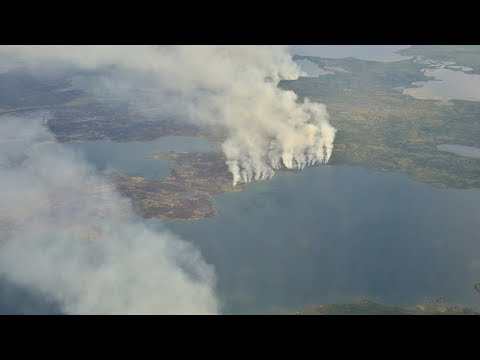 NASA Studies How Arctic Fires Change the World
