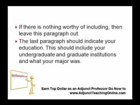 College Professor Teaching