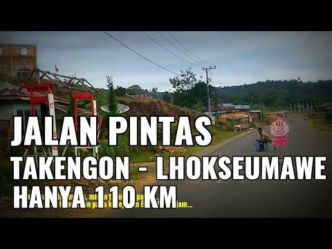 Takengon Lhokseumawe Hanya 110 Km Ini Jalan Pintasnya Youtube