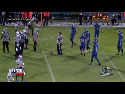 Fountain Hills vs Snowflake - White Mountian High School Football Full Game - Falcons vs Lobos