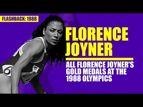 Florence Joyner's Gold Medals at the 1988 Olympics