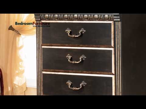Ashley Coal Creek 4-piece Mansion Bedroom Set In Dark