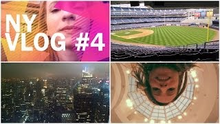 NY Vlog #4 - Yankee Stadium, Guggenheim, MET, Planet Hollywood e Top of the Rock