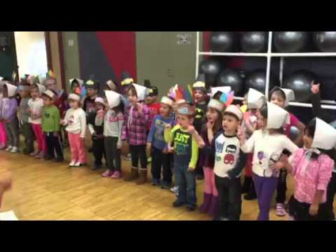 Bright Beginnings Preschool students issue a warning to turkeys