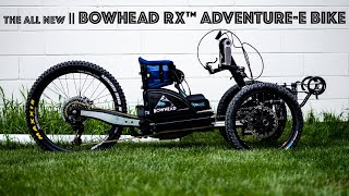 The All-New BOWHEAD RX™ ADVENTURE-E BIKE sneak peak with Founder Christian Bagg
