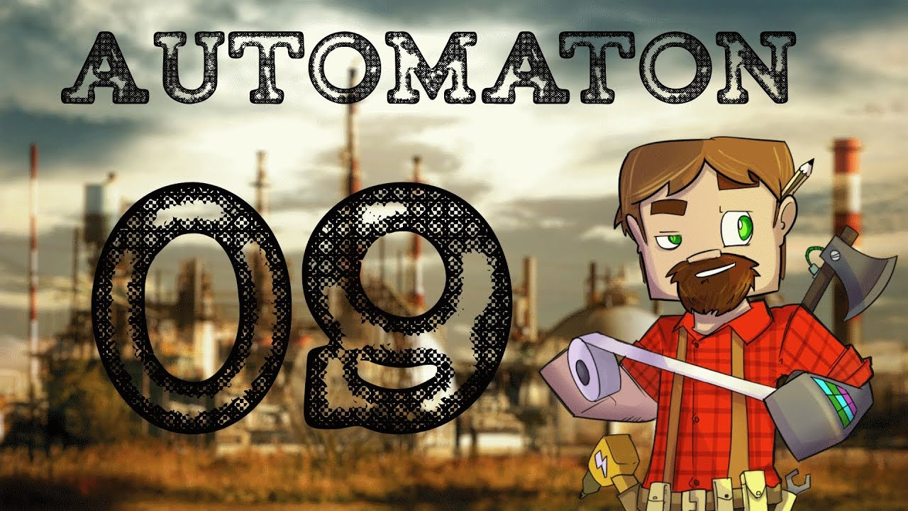 Modded Minecraft: Automaton! Episode 9: Metal Press and