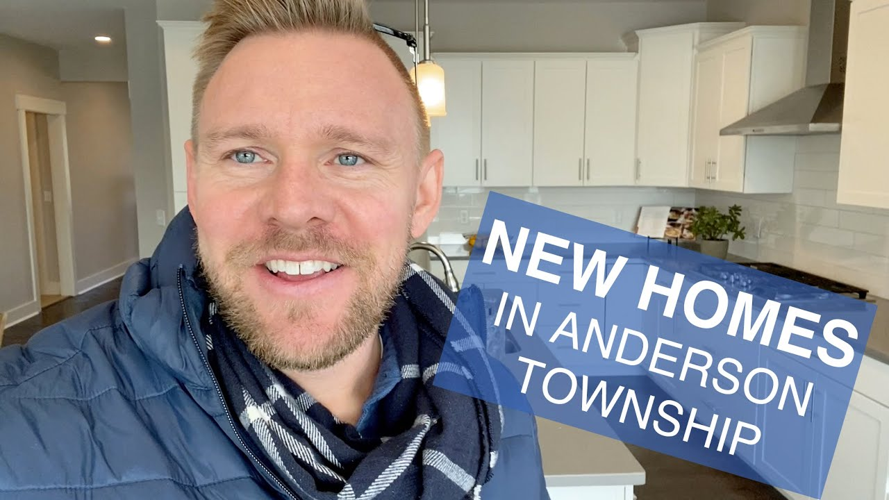 New Construction Homes in Anderson Township, OH - Realtor Tour of a New Build Home
