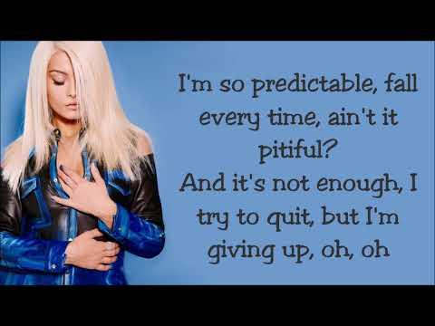 Bebe Rexha ~ Self Control ~ Lyrics Mp3
