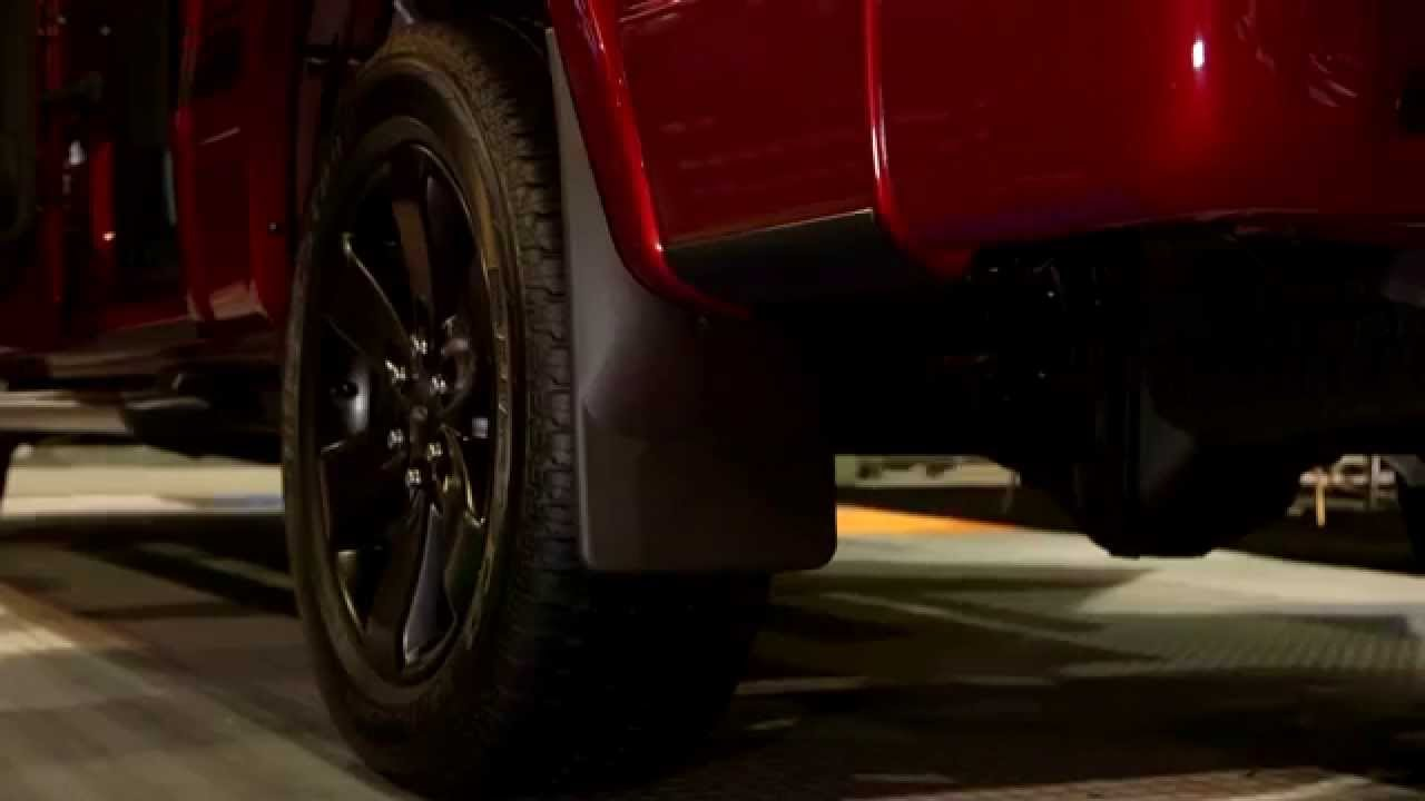 Weathertech No Drill Mud Flaps Review Sema 2014 Youtube