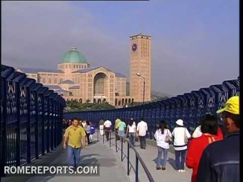 World's biggest Shrine attracts more than 10 million visitors in Aparecida, Brazil