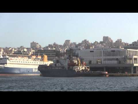 RUSSIAN NAVY SHIPS AT PIRAEUS GREECE