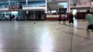 Intermitente técnico en balonmano
