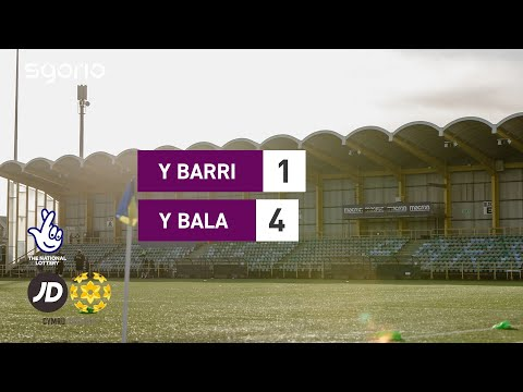Barry Bala Town Goals And Highlights