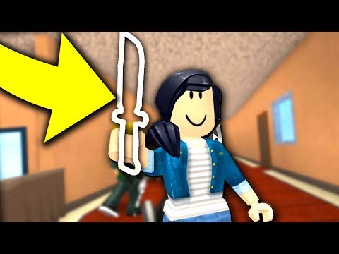 INVISIBLE KNIFE IN MURDER MYSTERY 2!!! *RARE SITING*
