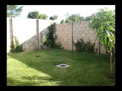 Vendo casa en bosques de lourdes jardin trasero youtube for Jardin en casa