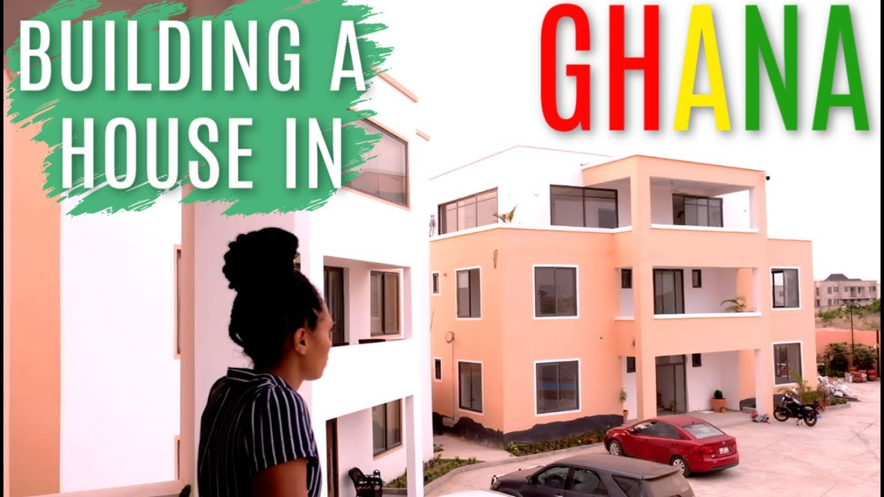 BUILDING A HOUSE IN GHANA | & starting a real estate business in Ghana