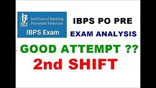 IBPS PO Pre exam analysis || Ibps po prelims exam review 2018
