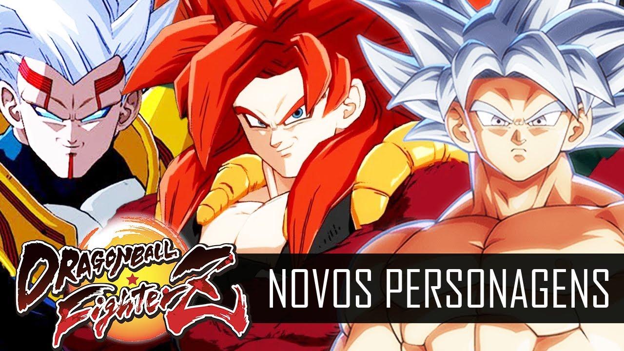 DRAGON BALL FIGHTERZ : GOGETA SS4, SUPER BABY 2, MESTRE KAME, GOKU ULTRA INSTINTO E KAFLA (PS5)