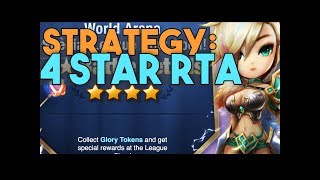 RTA 4 Star Special League Strategy in SUMMONERS WAR WORLD ARENA