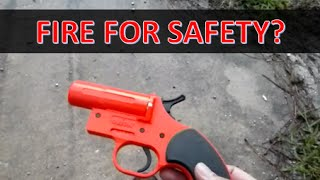 Orion flare gun preview and alternative uses
