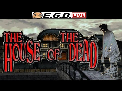 🔴Live! Andy Plays House Of The Dead! Get Ready For Bad Acting!