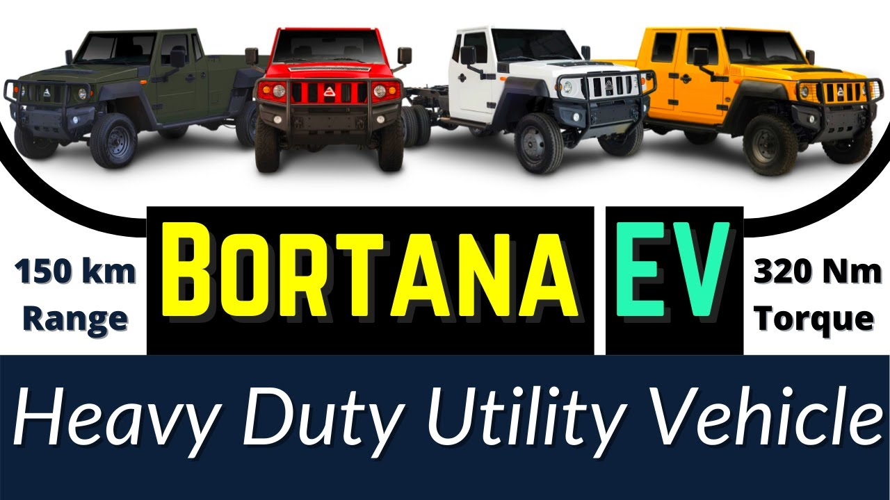 Heavy Duty Utility Electric Vehicle in Mining - Bortana EV