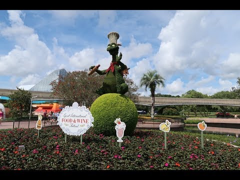 Snails, Glow In The Dark Doughnuts, & So Much More! 2017 Epcot International Food & Wine Festival