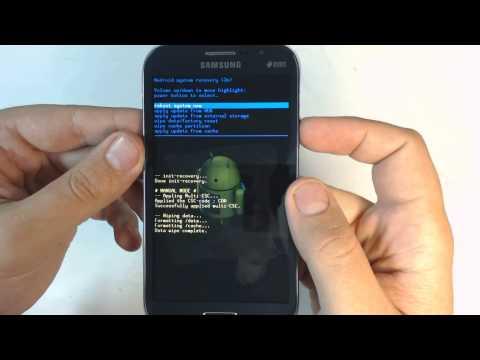Samsung Galaxy Grand I9082 hard reset