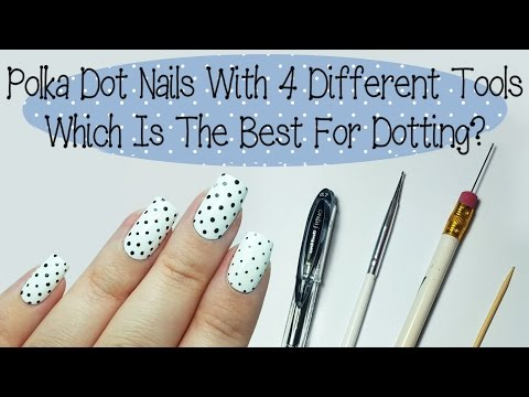 Easy Polka Dot Nails For Beginners (And What Tool Works Best)