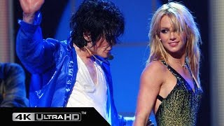 Michael Jackson, Britney Spears - The Way You Make Me Feel 4K