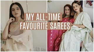 My ALL TIME Favourite Sarees! | Komal Pandey