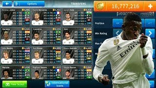 How to Create Real madrid Team In Dream league Soccer 2019   Android /iOS All Players Skills 100 %