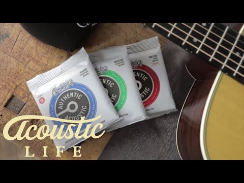 Are Martin's Authentic Acoustic Strings Better??? (AT81) Mp3