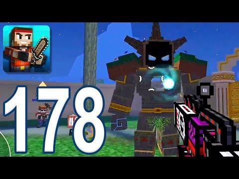 Pixel Gun 3D - Gameplay Walkthrough Part 178 - New Raid Map (iOS, Android)