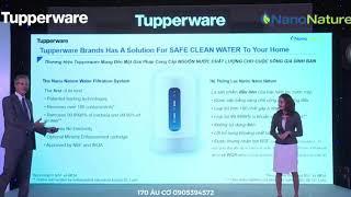 Máy lọc nước Tupperware Nano Nature - Tupperware 170 Âu Cơ