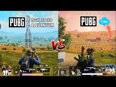 PUBG MOBILE (LIGHTSPEED VS TIMI STUDIO) Comparison. Which one is best?