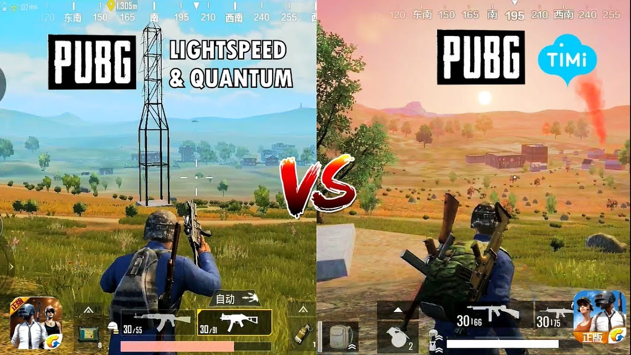 PUBG MOBILE (LIGHTSPEED VS TIMI STUDIO) Comparison. Which