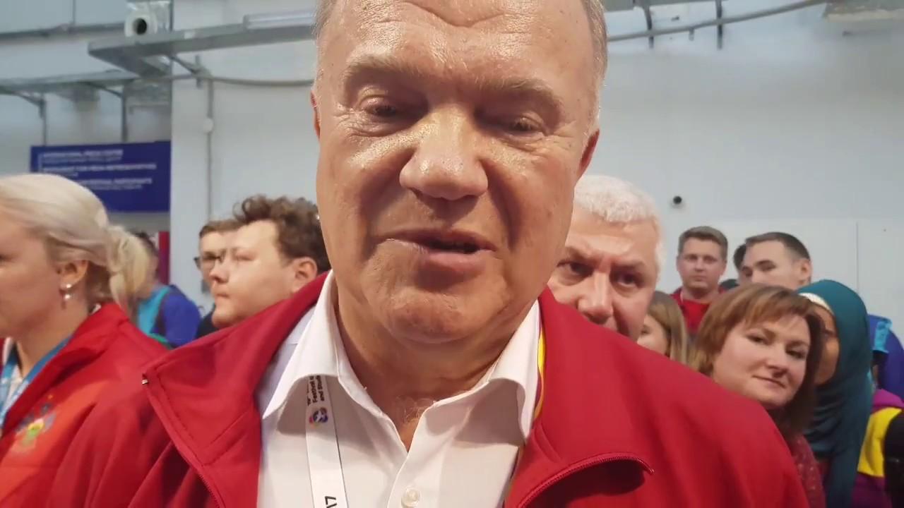 Зюганов Геннадий (КПРФ) в акции #СпасибоНаставнику
