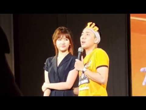Offline Trấn Thành : Hari Won Lần đầu tiên xuất hiện, trao nụ hôn thắm thiết