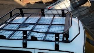 видео Экспедиционный багажник на Ниву Шевроле: выбираем лучшее