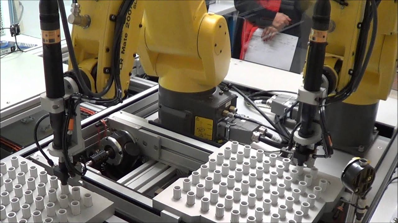 Robotic Torque Screwdriver Assembly Workcell Youtube