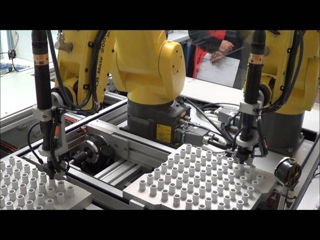 Robotic Torque Screwdriver Assembly Workcell