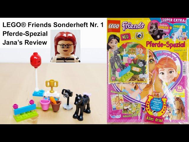 LEGO® Friends™ Pferde-Spezial Sonderheft Nr. 1 • Review von Jana