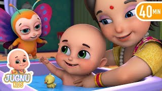 Titli udi bus pe chadi | Hindi Poem | Hindi Rhymes for children by Jugnu Kids