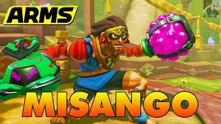 ARMS | MISANGO New Character Gameplay! (ARMS Ver 4.0 Walkthrough - New Character, Stage, & More) thumbnail