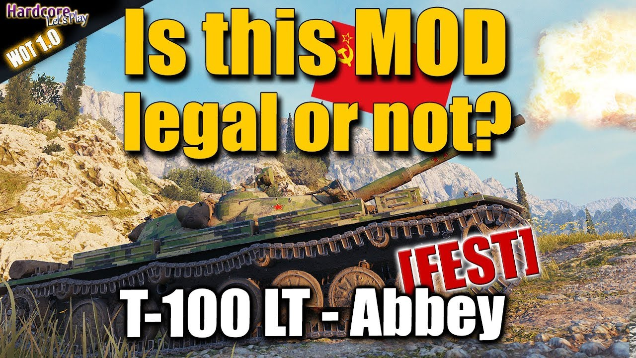 WOT: T-100 LT, Autoaim mod, without pointing enemy with the middle courser,  allowed?, WORLD OF TANKS