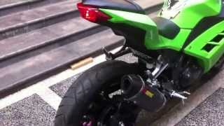 Akrapovic slip on ninja 250 fi 2013