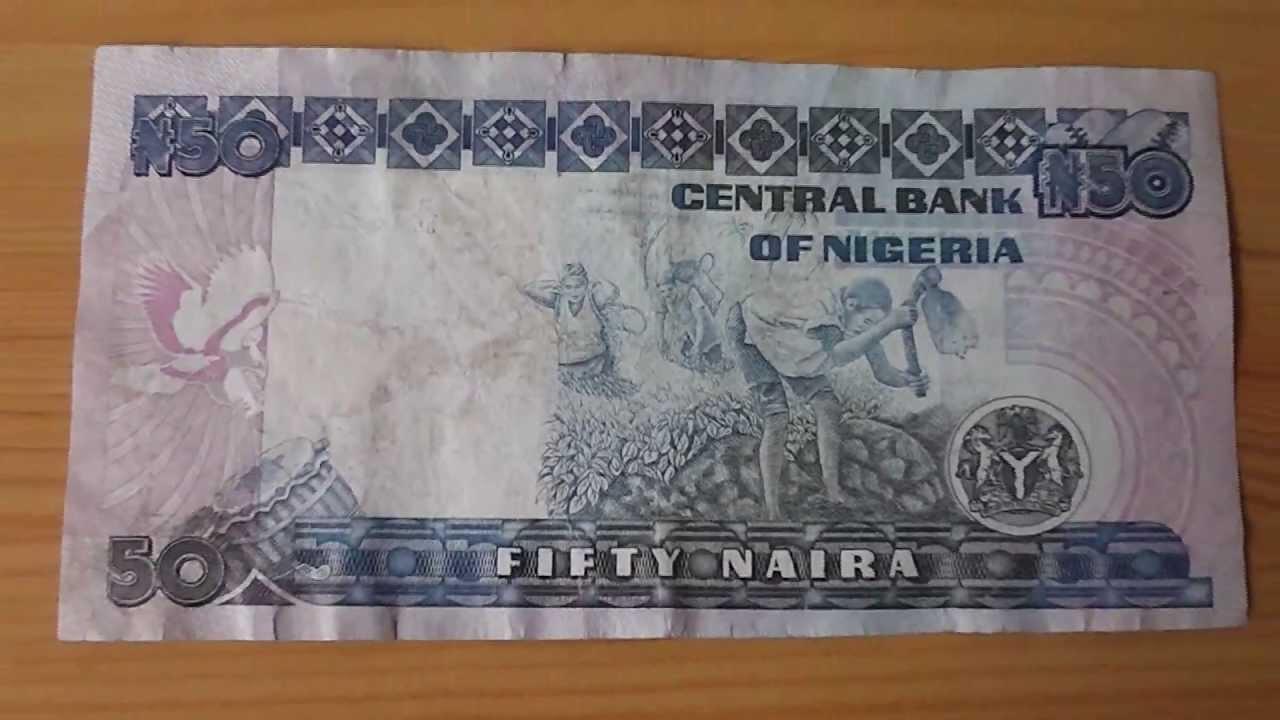 The 50 Naira Papermoney Note