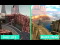 Half-Life vs. Black Mesa - Comparación Gráfica - Graphics Comparison