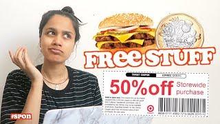 I tried to get free stuff online | clickfortaz